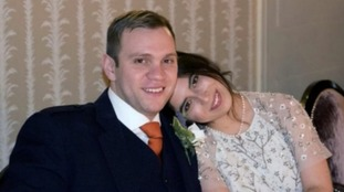 Matthew Hedges and wife Daniela Tejada
