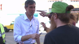 Why skateboarding liberal Beto O'Rourke is trying to turn the reddest of US states blue in the mid-terms