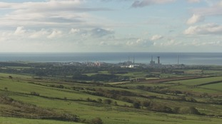 Sellafield plant in west Cumbria