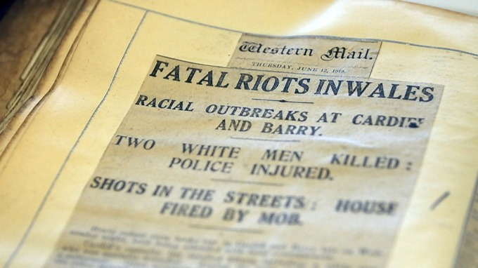 riots newspaper