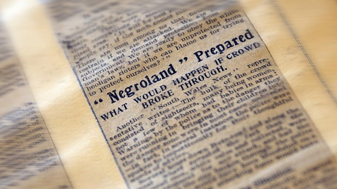 newspaper 'negroland'