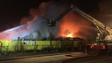 Birkenhead recycling centre fire