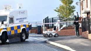 Homes evacuated in west Belfast security alert
