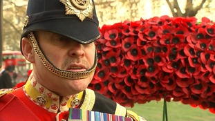 Greg Hedges from the Staffordshire Regiment Association.