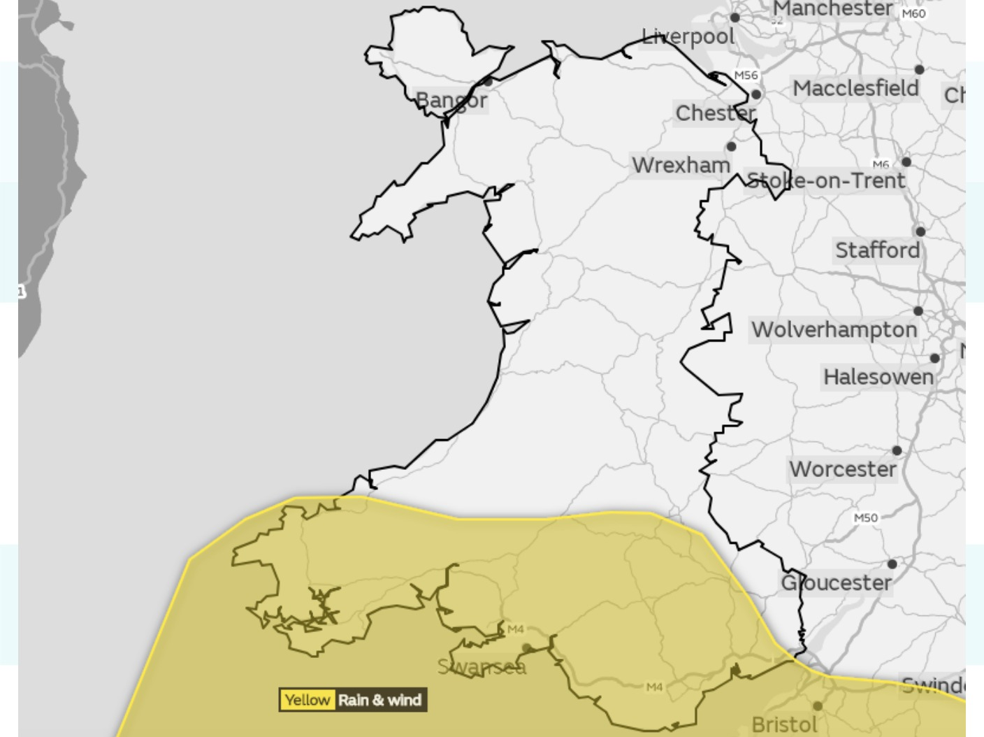 Amber Warning Issued For Wind And Rain  Wales  Itv News