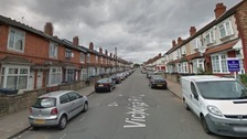 The cousins, aged 15 and 14, were hit by a single round in Victoria Street, Birmingham