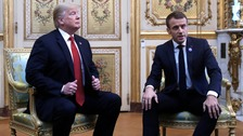 Trump launches scathing Twitter attack on Macron