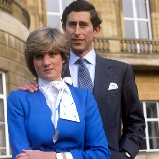 Announcing his engagement to Lady Diana Spencer, February 1981.