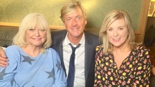 Richard and Judy chat to Lucy.