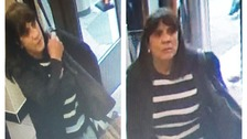 Police would like to speak to this woman pictured in connection with a fraud.