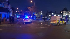 Police have closed Thorpe Road following stabbing at Riverside in Norwich.