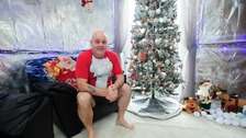 Bargoed man decks the halls with tin foil for festive season