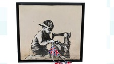 Artist buys Banksy artwork for £561,000 and vows to destroy it