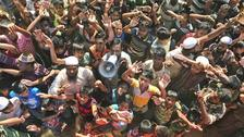 Repatriation plan halted as Rohingya beg to stay