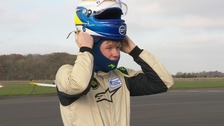 The teenager turning his dreams of being a racing driver into a reality