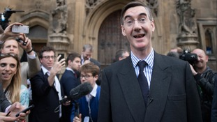 Jacob Rees-Mogg said he believed the 48 letters needed to trigger a vote of no confidence would be submitted.