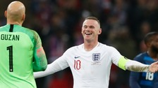 England beat USA as Rooney makes farewell appearance