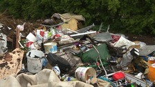 Northamptonshire is the worst place in the region for fly-tipping