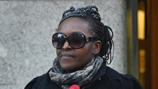 Fiona Onasanya outside of court November 12
