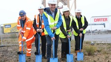 Work starts on £10m wind farm control centre in Essex