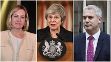 May bolsters Cabinet with old ally Rudd as new Brexit Secretary is appointed