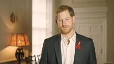 Prince Harry calls for HIV testing to be seen as 'completely normal'
