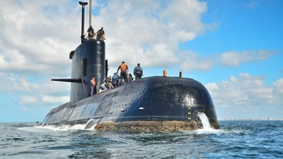 Argentina submarine with 44 crewmen aboard 'found sunk a year after disappearing'
