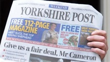 Johnston Press publishes The Yorkshire Post and around 200 other titles.