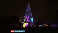 Christmas wonderland as we switch on Bournemouth lights