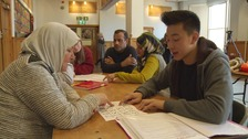 Brighton pupils help Syrian refugees pass citizenship test