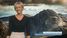 Wales Weather: A bitterly cold start to the week!