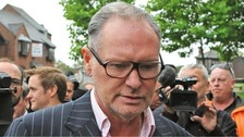 Paul Gascoigne charged with sexual assault during train journey