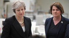 DUP to abstain from Finance Bill votes in warning over Theresa May's Brexit deal