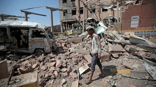 Saudi airstrikes have also hit areas controlled by the Houthi rebels.