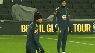 Fans will be hoping Neymar features in the match.
