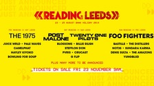 Reading and Leeds Festival 2019 headliners revealed