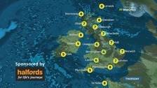 Weather: A cold and frosty start for many