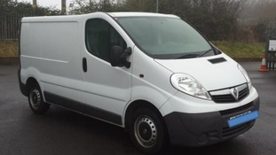 Police want to hear from anyone who saw this Vauxhall Vivaro van.