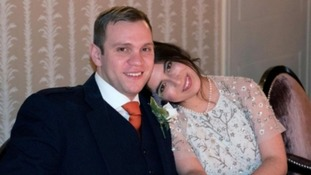 Matthew Hedges and his wife Daniela Tejada
