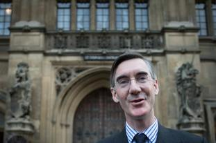 Jacob Rees-Mogg was among Tory MPs submitting letters of no confidence in the Prime Minister to 1922 Committee chairman Sir Graham Brady