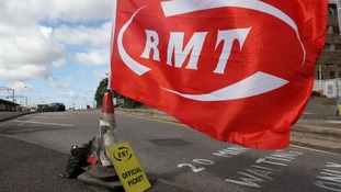 RMT members are striking over Northern Rails plans to stop using guards on trains.