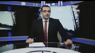 TV journalist Osama Gaweesh is seeking asylum in Britain after speaking out against the Egyptian military regime.