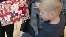 Special opening of Santa's grotto for children with autism and sensory issues