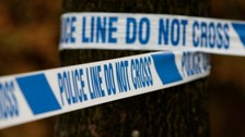 Police are investigating the death of two men in a fire at Market Harborough