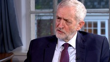 Corbyn won't rule out Remain option if second referendum held