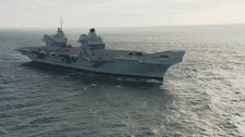 HMS Queen Elizabeth returns home to Portsmouth!