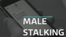 Male stalking victim 'not taken seriously'