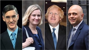 Candidates for Theresa May's job could include Jacob Rees-Mogg, Amber Rudd, Boris Johnson and Sajid Javid.