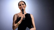 Duchess of Sussex makes surprise appearance at Fashion Awards
