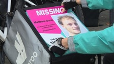 Bristol Deliveroo riders supporting Missing People campaign